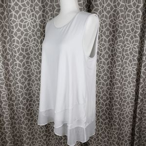 Vince Camuto White A-line Blouse